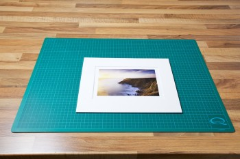 An image of the finished matted Prints ready to be signed from John Dunne Photography