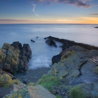 A Wicklow Seascape | Sunrise over Naylor's Cove - Wicklow, Ireland