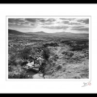 A Wicklow Landscape | Light Upon Luggala Mountain - Wicklow, Ireland