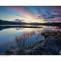 A Kerry Landscape | Dawn's light above Lough Caragh – Kerry, Ireland