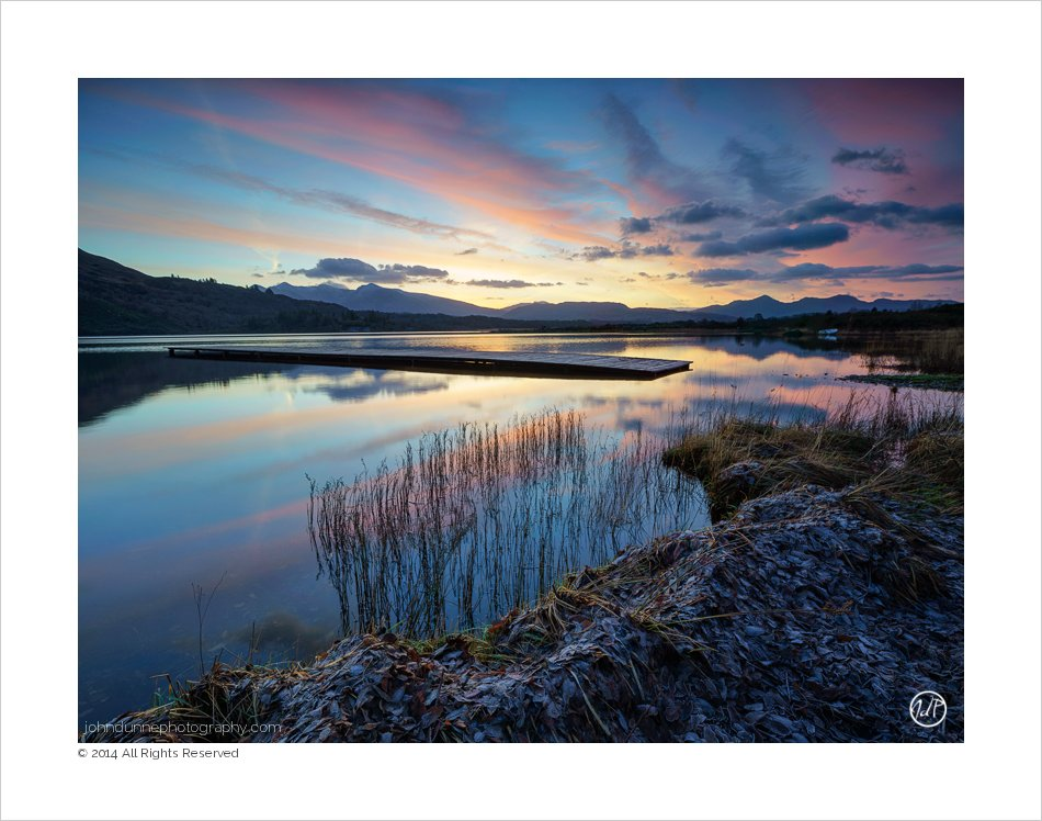 A Kerry Landscape | Dawn's light above Lough …