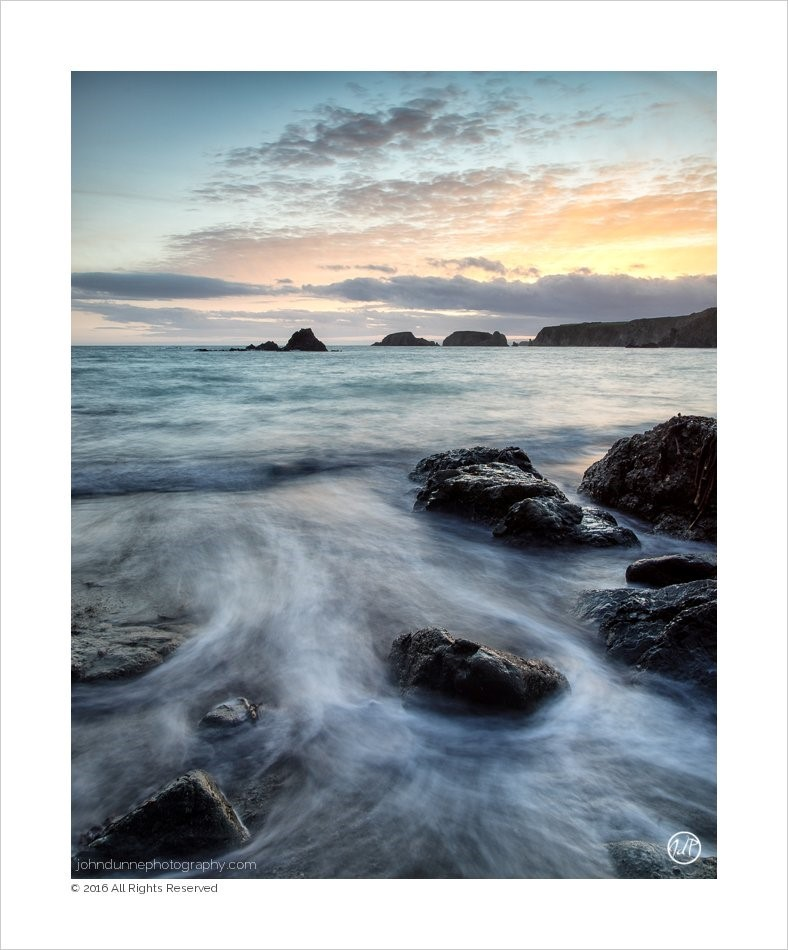 A Waterford Seascape | Sunset over Sheep Isla…